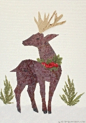 Deer with Garland
