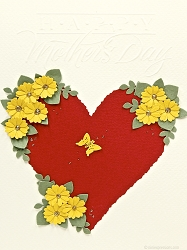 Heart With Daisies